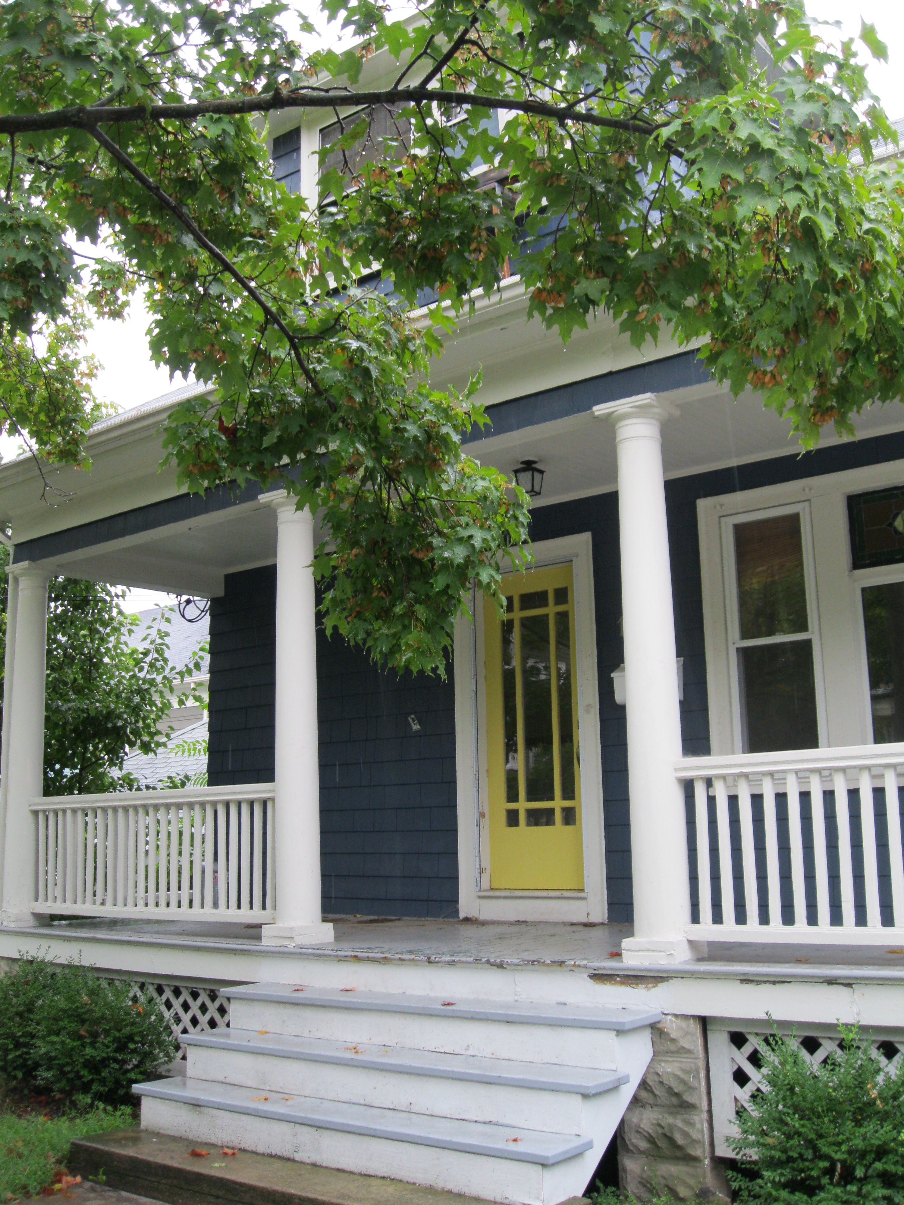 Blue House Yellow Door. Free Southern Living Royal Blue Paint Colors ...