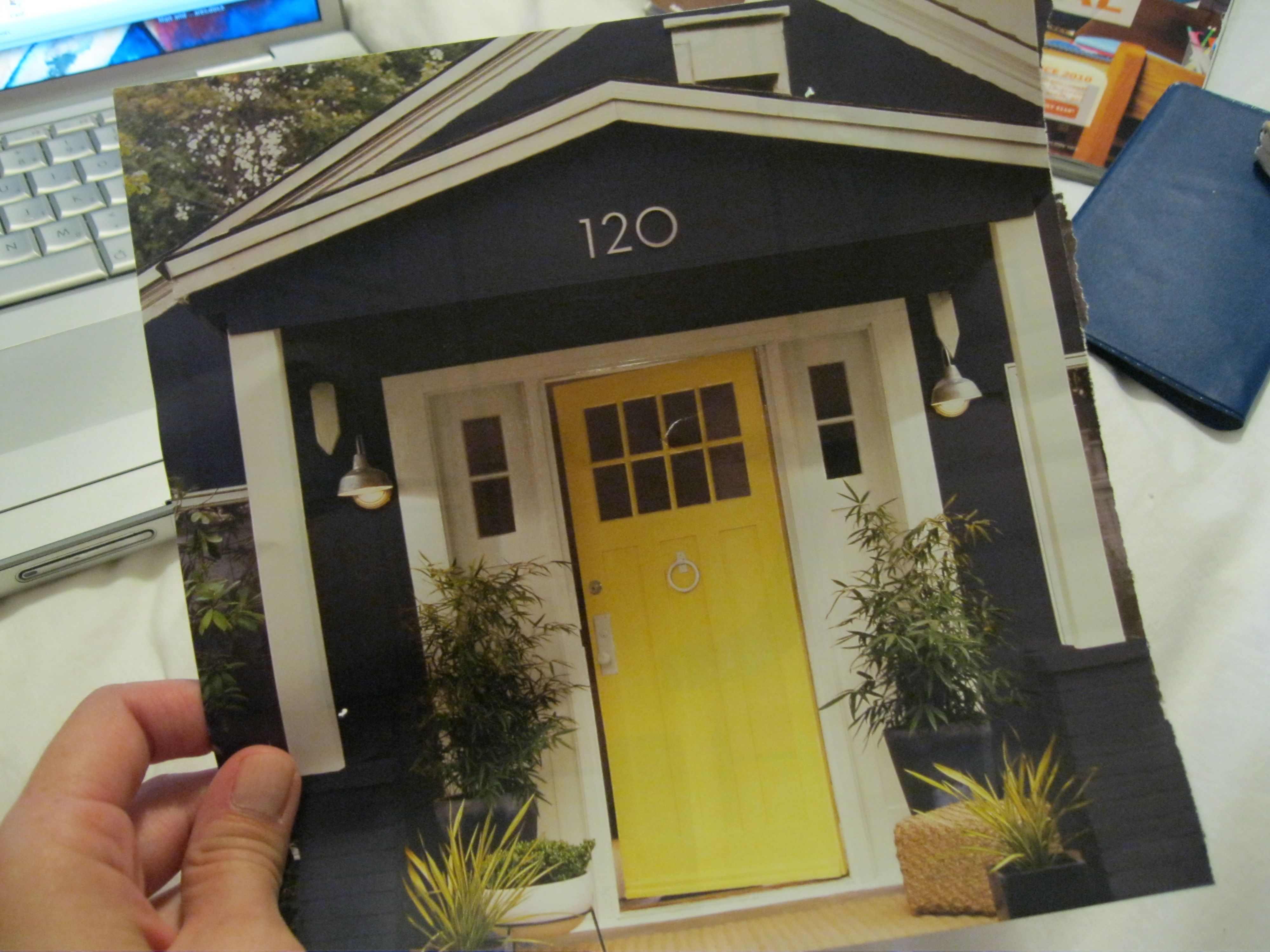 Home lollipops and unicorns for Modern house yellow